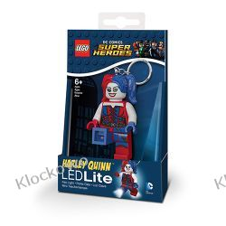 MINI LATARKA LED LEGO -SH HARLEY QUINN - BRELOK Harry Potter