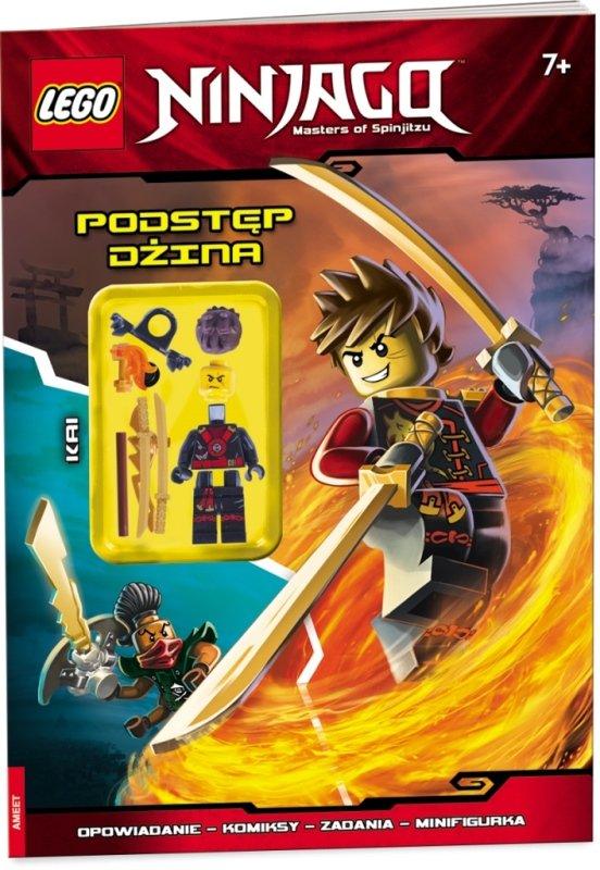 Książka Lego Ninjago Podstęp Dżina Na Bazarekpl