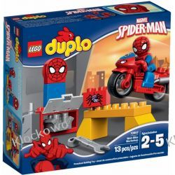10607 WARSZTAT SPIDERMANA (Spider-Man Web-Bike Workshop) KLOCKI LEGO DUPLO  Friends