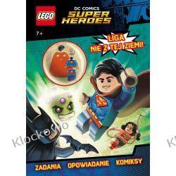 KSIĄŻKA LEGO® Super Heroes. Liga nie z tej ziemi! Książki dla dzieci i młodzieży