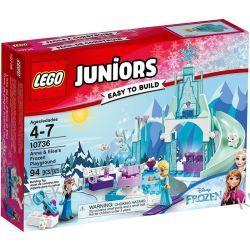 10736 - PLAC ZABAW ANNY I ELSY Z KRAINY LODU (Anna & Elsa's Frozen Playground) - KLOCKI LEGO JUNIORS Inne zestawy