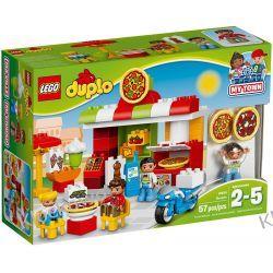 10834 PIZZERIA KLOCKI LEGO DUPLO  Kompletne zestawy