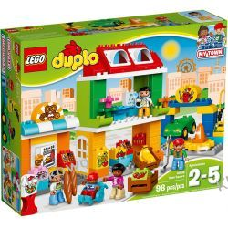 10836 MIASTECZKO (Town Square) KLOCKI LEGO DUPLO  Playmobil