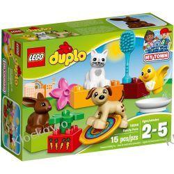 10838 ZWIERZĄTKA DOMOWE (Family Pets) KLOCKI LEGO DUPLO  Z zabawkami