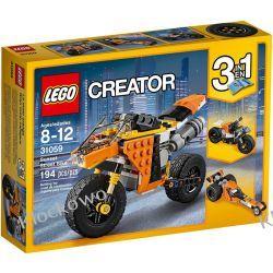 31059 MOTOCYKL Z BULWARU ZACHODZACEGO SŁOŃCA (Mighty Dinosaurs) KLOCKI LEGO CREATOR