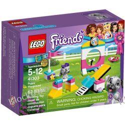 41303 PLAC ZABAW DLA PIESKÓW (Puppy Playground) KLOCKI LEGO FRIENDS Kompletne zestawy