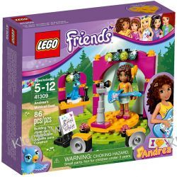 KLOCKI LEGO FRIENDS 41309 MUZYCZNY DUET ANDREI (Andrea's Musical Duet)