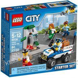 60136 POLICJA ZESTAW STARTOWY (Police Starter Set) KLOCKI LEGO CITY Playmobil