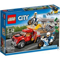 60137 ESKORTA POLICYJNA (Tow Truck Trouble) KLOCKI LEGO CITY Kompletne zestawy