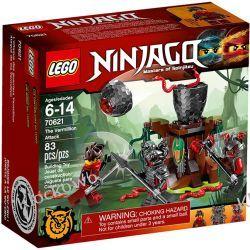 70621 ATAK CYNOBRU (The Vermillion Attack) KLOCKI LEGO NINJAGO Kompletne zestawy