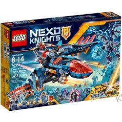 70351 BLASTEROWY MYŚLIWIEC CLAY'A (Clay's Falcon Fighter Blaster) KLOCKI LEGO NEXO KNIGHTS Creator