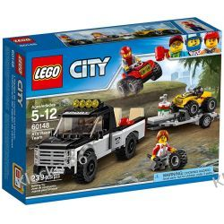60148 WYŚCIGOWY ZESPÓŁ QUADOWY (ATV Race Team) KLOCKI LEGO CITY Playmobil