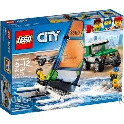 60149 TERENÓWKA 4X4 Z KATAMARANEM (4x4 with Catamaran) KLOCKI LEGO CITY Inne zestawy