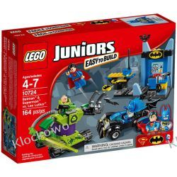 10724 - BATMAN I SUPERMAN KONTRA LEX LUTHOR (Batman & Superman vs. Lex Luthor) - KLOCKI LEGO JUNIORS Kompletne zestawy