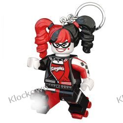 LEGO BATMAN MOVIE LATARKA LED Harley Quinn - BRELOK