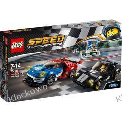 75881 FORD GT Z ROKU 2016 I FORD GT 40 Z ROKU 1966 KLOCKI LEGO SPEED CHAMPIONS Racers