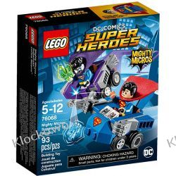 76068 SUPERMAN KONTRA BIZARRO(Mighty Micros: Superman vs. Bizarro) - KLOCKI LEGO SUPER HEROES Atlantis