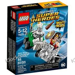 76070 WONDER WOMAN KONTRA DOOMSDAY (Mighty Micros: Wonder Woman vs. Doomsday) - KLOCKI LEGO SUPER HEROES
