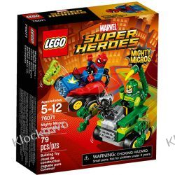 76071 SPIDER-MAN KONTRA SKORPION (Mighty Micros: Spider-Man vs. Scorpion) - KLOCKI LEGO SUPER HEROES