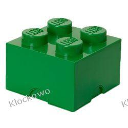 POJEMNIK LEGO 4 CIEMNOZIELONY - LEGO POJEMNIKI Kompletne zestawy