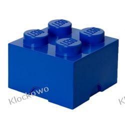 POJEMNIK LEGO 4 NIEBIESKI - LEGO POJEMNIKI Minifigures