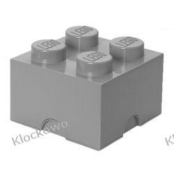 POJEMNIK LEGO 4 SZARY - LEGO POJEMNIKI Playmobil