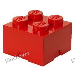 POJEMNIK LEGO 4 CZERWONY - LEGO POJEMNIKI Inne zestawy
