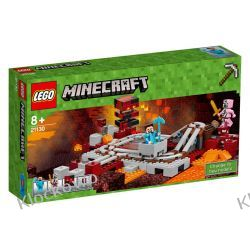 21130 - LINIA KOLEJOWA W NETHERZE (The Nether Railway)- KLOCKI LEGO MINECRAFT Playmobil