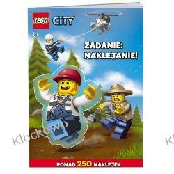 KSIĄŻKA LEGO CITY - ZADANIE NAKLEJANIE Inne zestawy