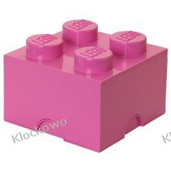 POJEMNIK LEGO 4 RÓŻOWY - LEGO POJEMNIKI Kompletne zestawy