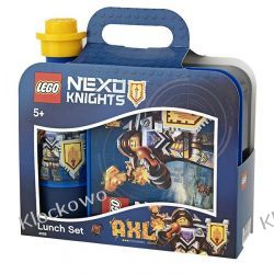 LUNCH SET LEGO® NEXO KNIGHTS™ - LEGO POJEMNIKI Playmobil