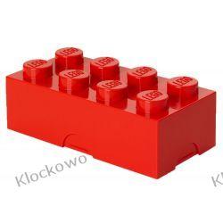 ŚNIADANIÓWKA LEGO KLOCEK CZERWONY - LEGO POJEMNIKI Kompletne zestawy