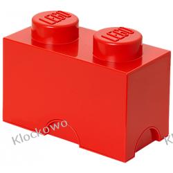 POJEMNIK LEGO 2 CZERWONY - LEGO POJEMNIKI Kompletne zestawy