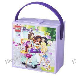 ŚNIADANIÓWKA LEGO FRIENDS Z UCHWYTEM - LEGO POJEMNIKI Straż
