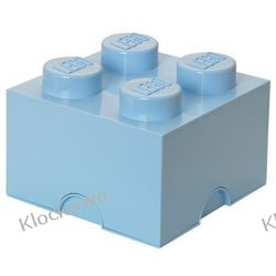 POJEMNIK LEGO 4 JASNONIEBIESKI - LEGO POJEMNIKI Playmobil