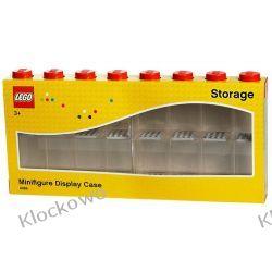 POJEMNIK LEGO NA MINIFIGURKI 16 CZERWONY - LEGO POJEMNIKI Playmobil