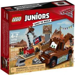 10733 - SKŁADOWISKO U ZŁOMKA (Mater's Junkyard) - KLOCKI LEGO JUNIORS