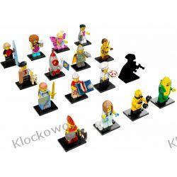 71018 MINIFIGURKI KOMPLET 16 SZT - KLOCKI LEGO MINIFIGURKI Minifigures