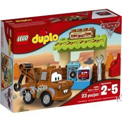 10856 SZOPA ZŁOMKA (Mater's Shed) KLOCKI LEGO DUPLO CARS  Kompletne zestawy