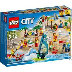 60153 ZABAWA NA PLAŻY (People pack - Fun at the beach) KLOCKI LEGO CITY