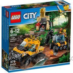 60159 MISJA PÓŁGĄSIENICOWEJ TERENÓWKI (Jungle Halftrack Mission) KLOCKI LEGO CITY Ninjago