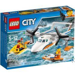 60164 HYDROPLAN RATOWNICZY (Sea Rescue Plane) KLOCKI LEGO CITY Kompletne zestawy