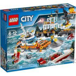60167 KWATERA STRAŻY PRZYBRZEŻNEJ (Coast Guard Head Quarters) KLOCKI LEGO CITY Ninjago