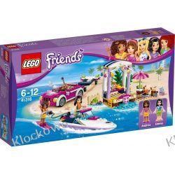 41316 TRANSPORTER MOTORÓWEK ANDREI (Andrea's Speedboat Transporter) KLOCKI LEGO FRIENDS Playmobil