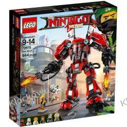 70615 OGNISTY ROBOT (Fire Mech) KLOCKI LEGO NINJAGO  Kompletne zestawy
