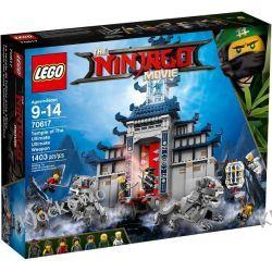 70617 ŚWIĄTYNIA BRONI OSTATECZNEJ (Temple of The Ultimate Ultimate Weapon) KLOCKI LEGO NINJAGO  Pirates