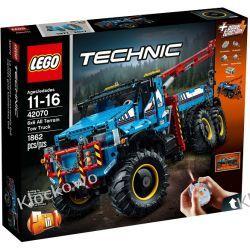 42070 TERENOWY HOLOWNIK 6X6 (6x6 All Terrain Tow Truck) KLOCKI LEGO TECHNIC  Friends
