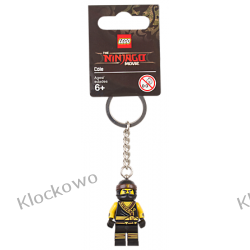 853697 BRELOK NINJA COLE (Cole Key Chain) - LEGO® NINJAGO® MOVIE™