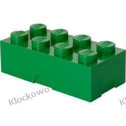 ŚNIADANIÓWKA LEGO KLOCEK CIEMNOZIELONY - LEGO POJEMNIKI Playmobil