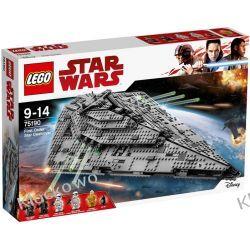75190 NISZCZYCIEL GWIEZDNY NAJWYŻSZEGO PORZĄDKU™ (First Order Star Destroyer) KLOCKI LEGO STAR WARS  Kompletne zestawy